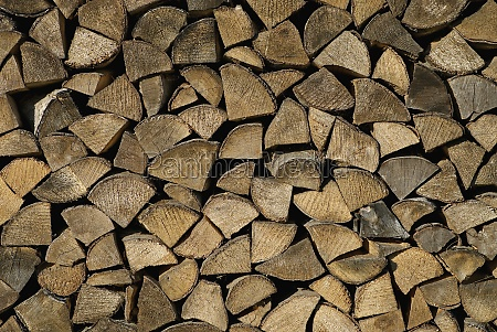 stacks of firewoods