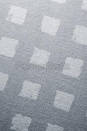 close up of a designed tile