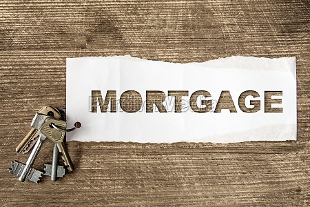 keys with lettering mortgage