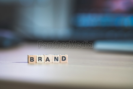 business brand and identity concept close