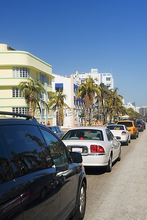 traffic on the road miami florida