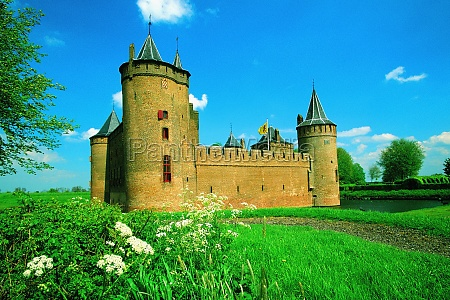 low angle view of a castle