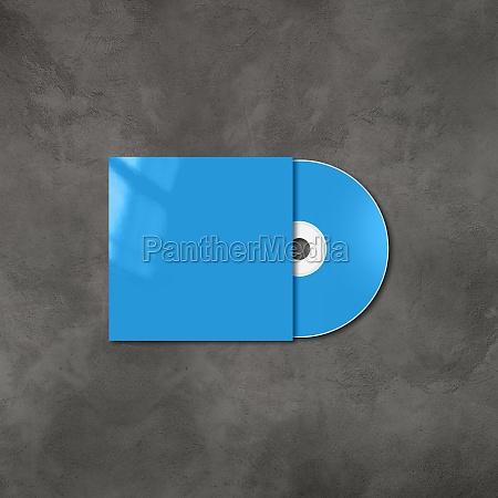 blue cd dvd mockup template