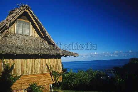 beach hut on the beach caribbean