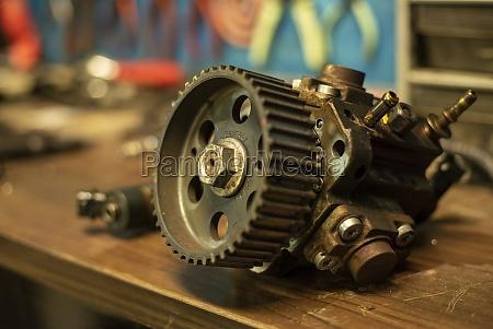spare car engine diesel pump