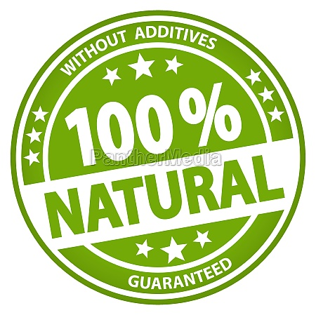round business button 100 natural