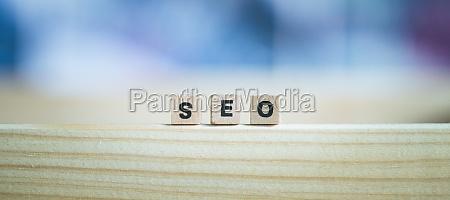 seo search engine optimization concept close