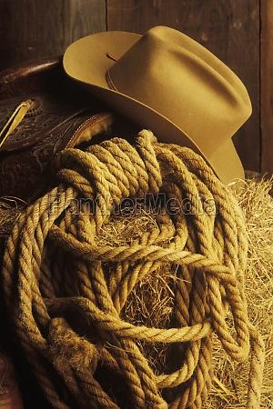close up of a cowboy hat