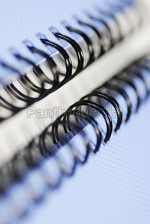 close up of two spiral notebooks