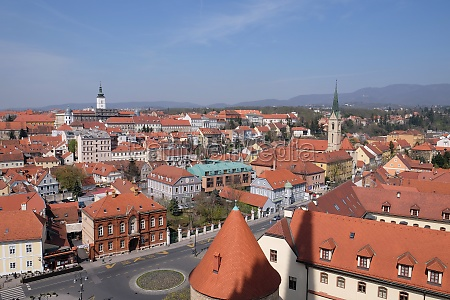 view of the zagreb from the