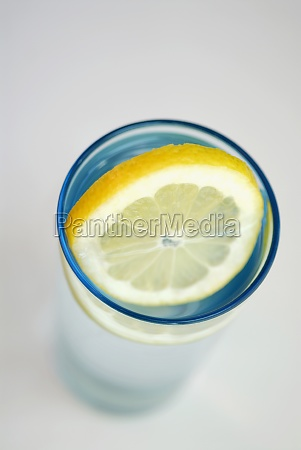 close up of a lemon slice