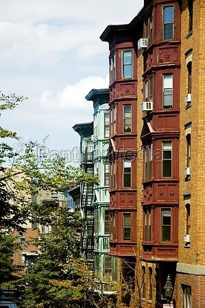 buildings in a city boston massachusetts