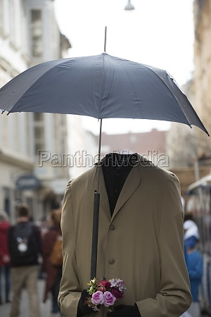 umbrella as protection agains rain
