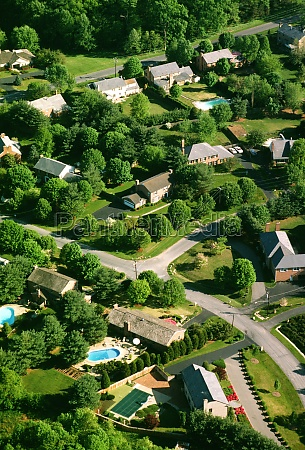 aerial views of montgomery county housing