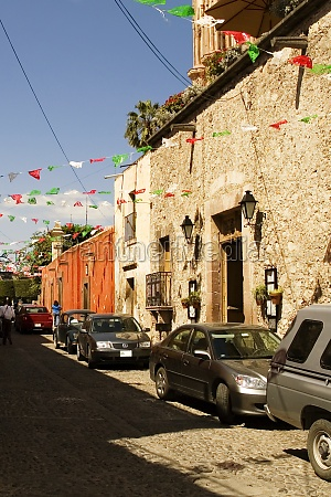 cars parked on the street mexico