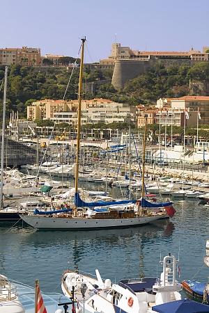 boats docked at a harbor port