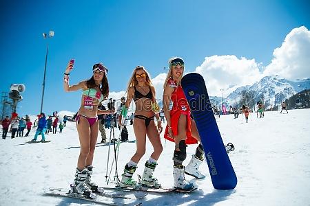 ski resort in sochi snow and
