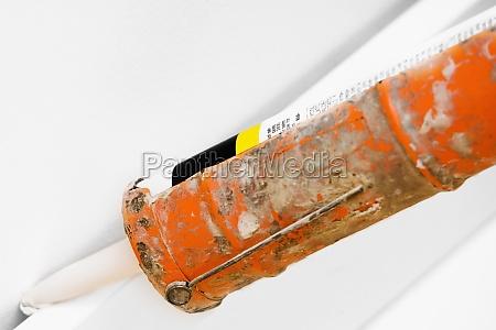 close up of a silicon gun