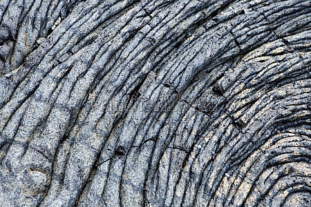 close up of dry lava surface