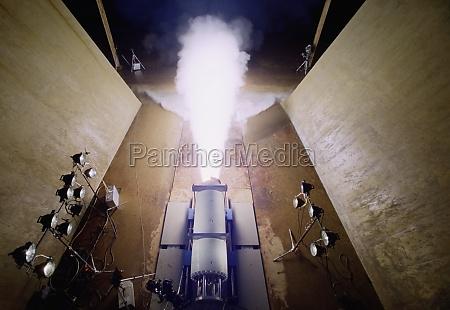 rocket being tested arkansas
