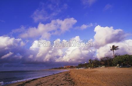 panoramic view of the beach bali