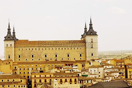 buildings in a city castilla la
