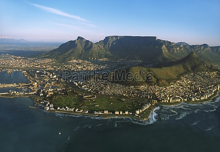 capetown lionZs head and table mountain
