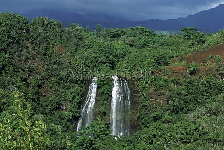 opaekaZa falls kauai hawaii