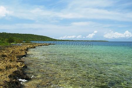 panoramic view of the sea san