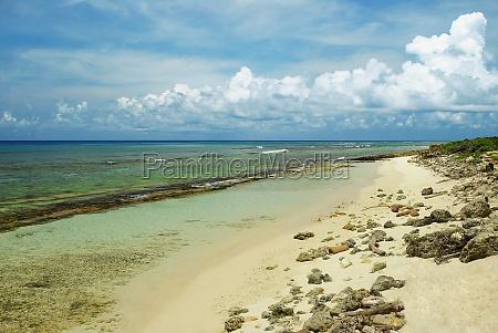 panoramic view of a beach san