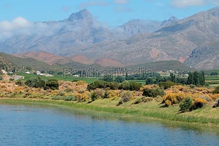 rural landscape of farmland south
