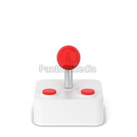 retro game joystick