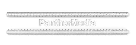steel reinforced bars