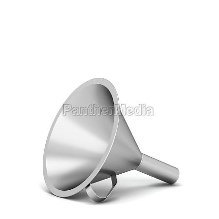 steel funnel