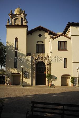 facade of a building mexican culture