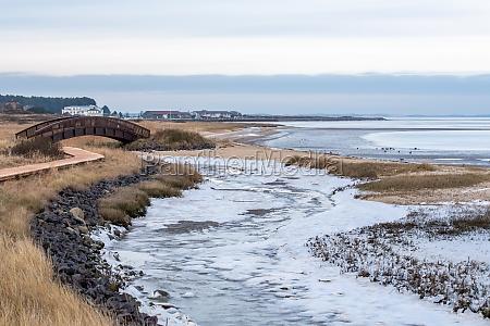 winter on the wadden sea