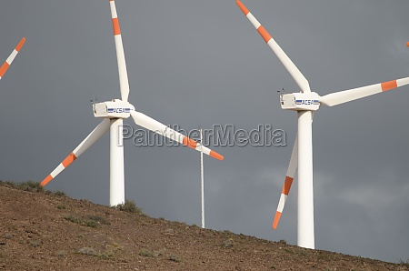 wind turbines in the municipality of