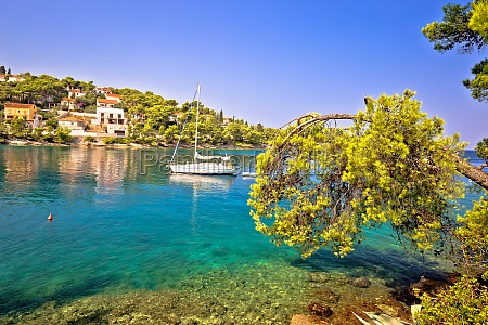 turquoise beach yachting and sailing destination
