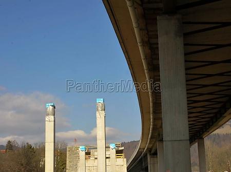 bridge construction in traffic and transport