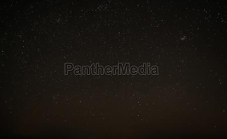 starry night sky the milky way