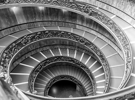 the famous spiral staircase in vatica