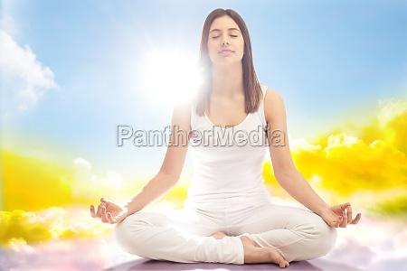 conceptual spiritual yoga
