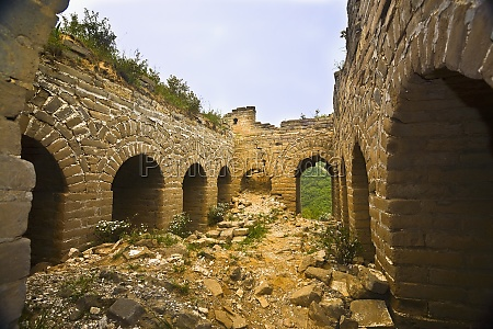 old ruins of a building great