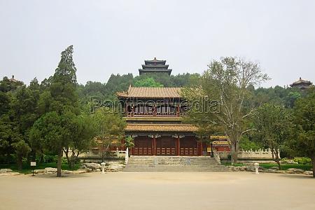facade of a palace forbidden city