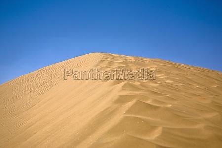 sand dunes in a desert kubuqi
