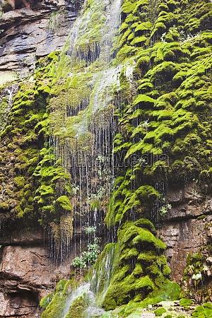 waterfall on a mountain mt yuntai