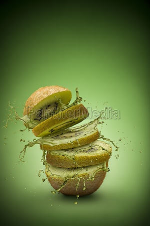 kiwi fruit splash