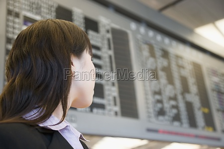 close up of a businesswoman at