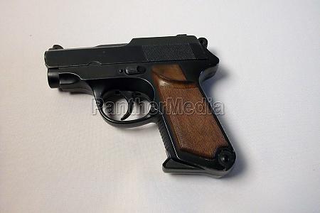 pistol a handgun for shooting