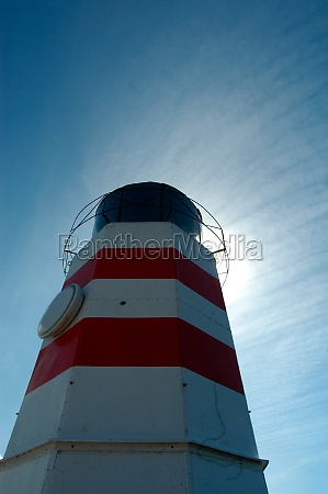 lighthouse navigational aid in shipping traffic